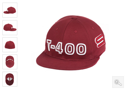 Bordo hip hop kacket T400