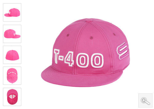 Pink hip hop kacket T400